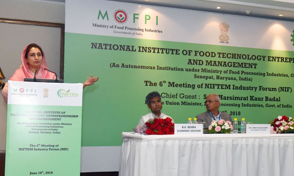NIFTEM can become Harvard of food processing sector: Minister
