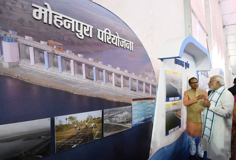 PM inaugurates Mohanpura irrigation project in MP