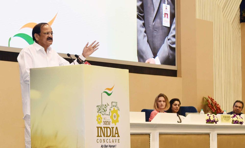 Agriculture should be on top of Govt agenda: Vice President