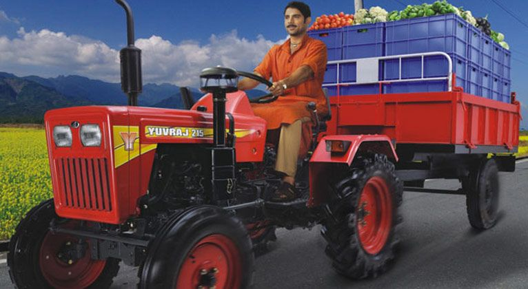 Mahindra sells 21,574 tractors in India during July 2018