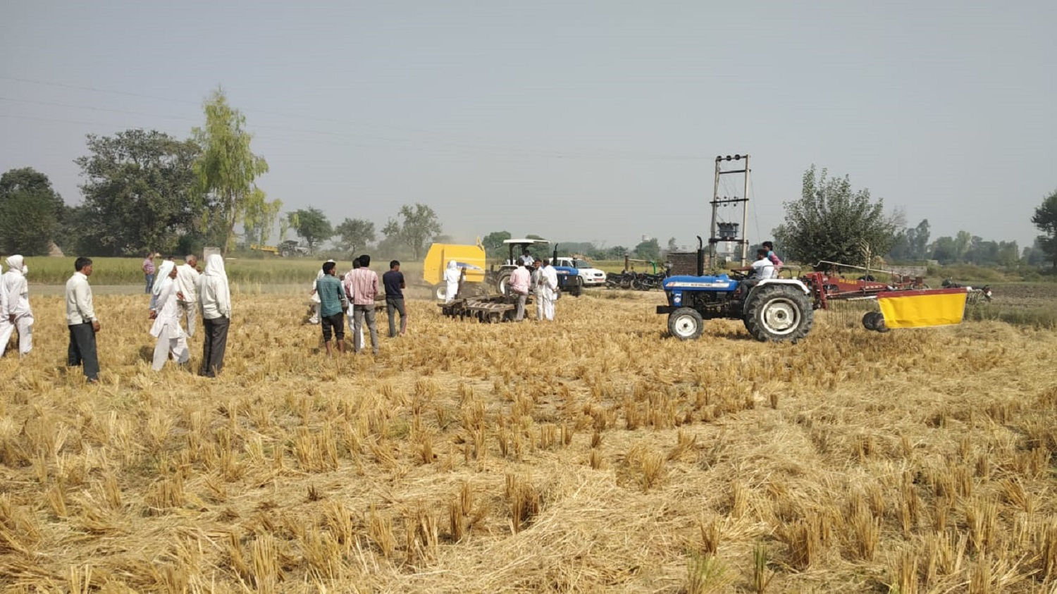 New Holland Agriculture, IARI join hands to fight crop stubble burning