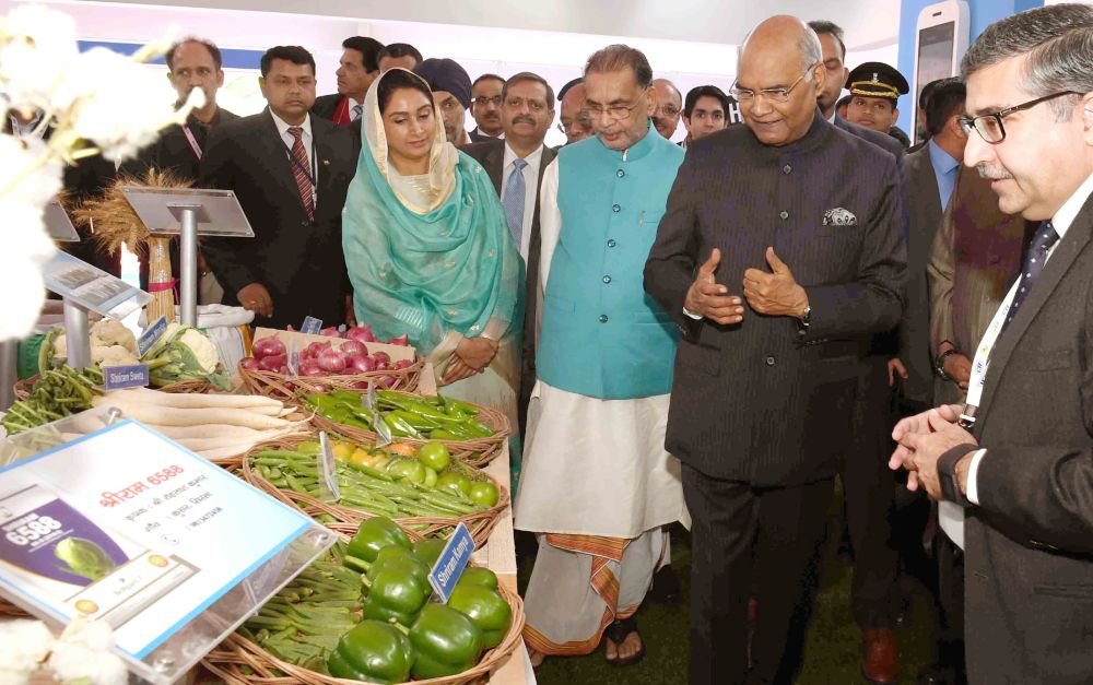 President of India Inaugurates CII Agro Tech India in Chandigarh