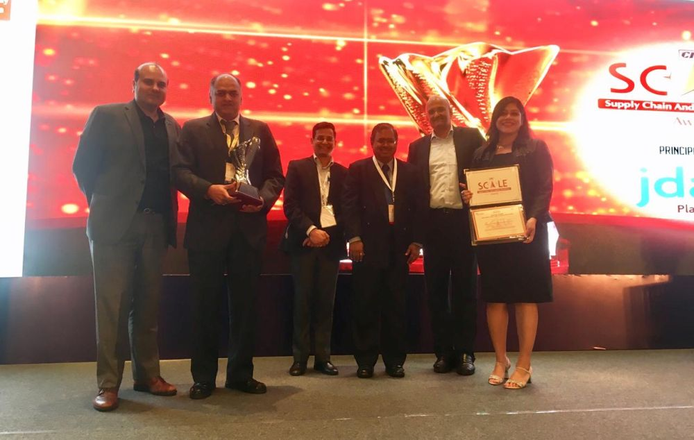 SLCM wins CII SCALE Awards for agri-warehousing