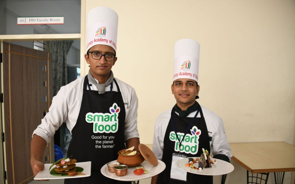 Who will be the Smart Food student chef of India?