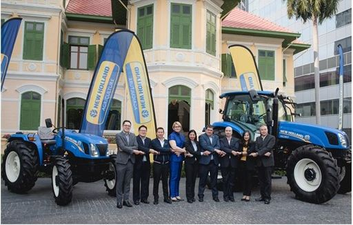 New Holland Agriculture launches TT3.50 tractor in Thailand