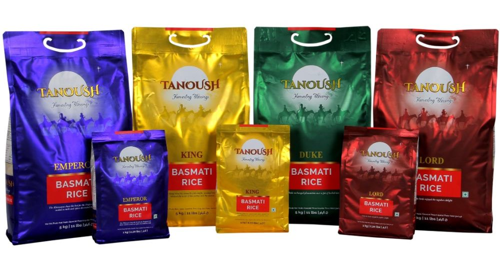 GRM enters UAE market with basmati rice brand Tanoush