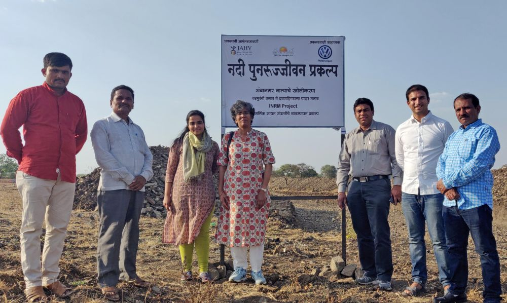 Volkswagen launches watershed management program in Latur