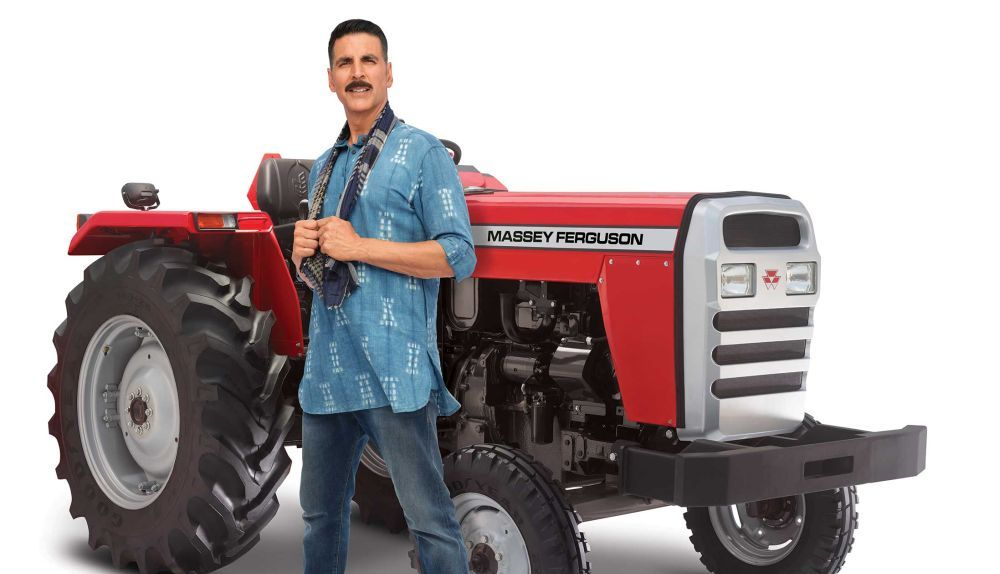 TAFE signs Akshay Kumar as brand ambassador for Massey Ferguson tractors