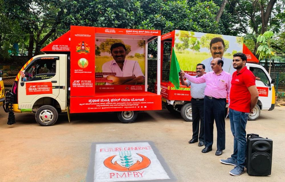 Future Generali conducts crop insurance awareness in Karnataka