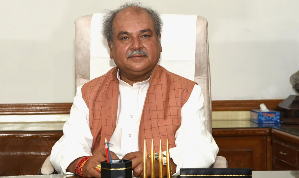 Narendra Singh Tomar takes charge of Ministry of Agriculture and Farmers Welfare