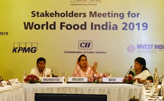 India to host World Food India in Nov in New Delhi