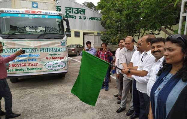 Trial shipment of North Indian mangoes sent to Italy