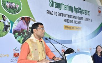 MoS Food Processing Rameswar Teli lauds private sectorfor agriculture development