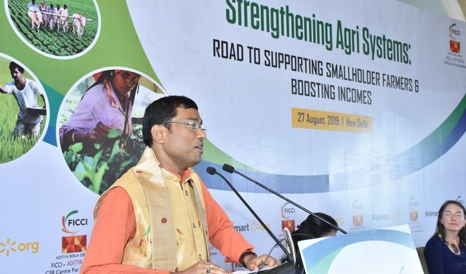 MoS Food Processing Rameswar Teli lauds private sector for agriculture development