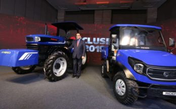 Escorts launches hybrid tractor, rural transport vehicle & backhoe loader