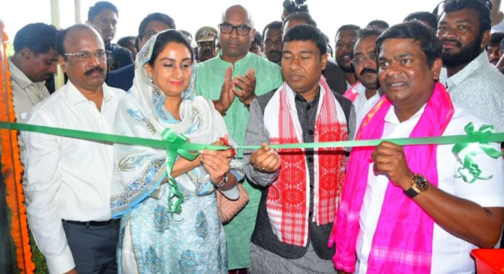 Food Processing Minister inaugurates Mega Food Park in Telangana