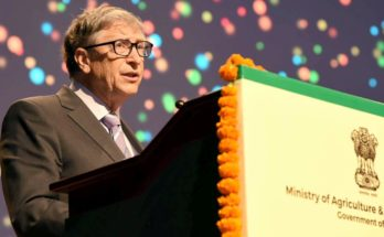 What does Bill Gates say in regard to small farmers, climate change and right information?