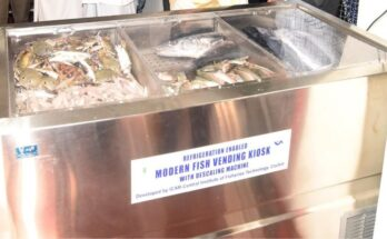ICAR-CIFT's Refrigerated Fish Vending Kiosk prompts freshness in fish retailing