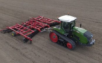 AGCO launches Fendt 900 Vario MT Track tractors