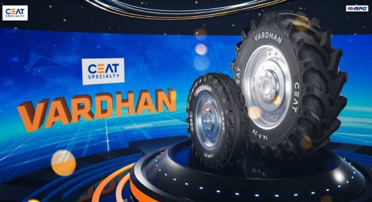 CEAT Specialty launches tractor tyre range, Vardhan