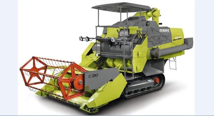 CLAAS celebrates making 10,000 CROP TIGER combine harvesters in India