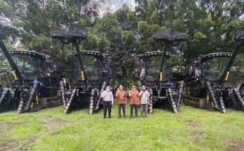 Case IH's Austoft sugarcane harvesters solve labour shortage issues in Indonesia