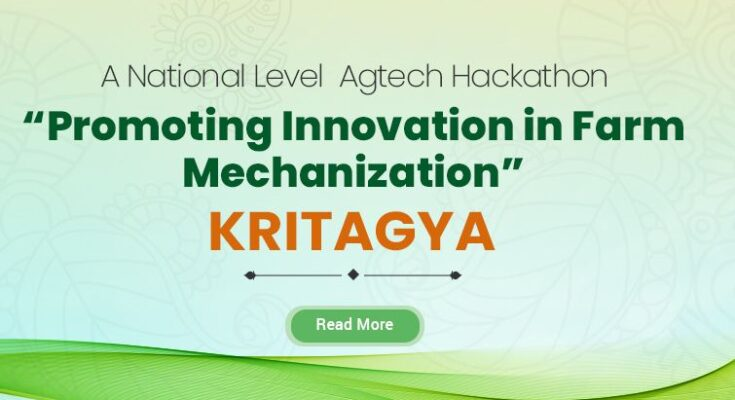 ICAR's Kritagya hackathon to promote technology solutions for women friendly farm equipment