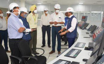 MoS Mansukh Mandaviya visits NFL's Nangal (Punjab) Plant