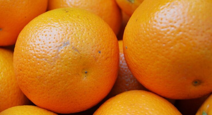 Orange production is estimated at 64 lakh tonnes in 2019-20