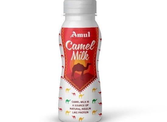 AMUL launches camel milk powder and camel milk ice cream