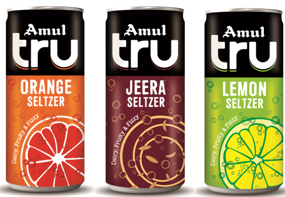 Amul launches India's first seltzer: Amul Tru Seltzer