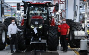 Case IH's St Valentin tractor factory wins Efficient Company of the Year award