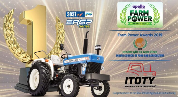 New Holland Agriculture bags award for Best Tractor and Best CSR Activity categories