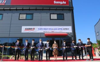Case IH appoints new dealer and launches new round baler in South Korea