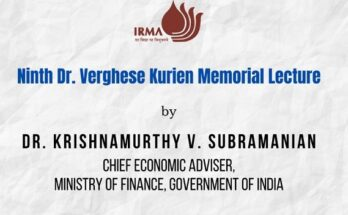 IRMA celebrates National Milk Day with 9th Dr. Verghese Kurien Memorial Lecture
