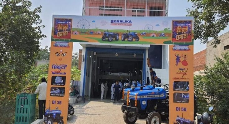 Sonalika sells 11,478 tractors in India in Nov, 2020
