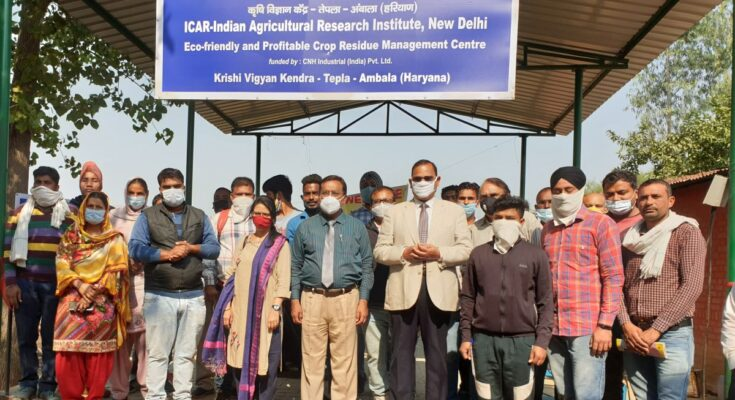Stubble burning: CNH Industrial, IARI partner for straw management project