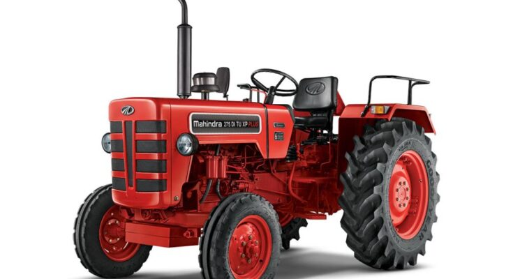 How have been the sales of Mahindra's tractors in January'21?
