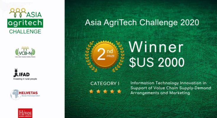 FarmERP bags US$ 2000, secures 2nd place in Asia Agritech Challenge