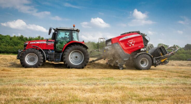 Know the AGCO's newly launched Massey Ferguson RB 4160P Protec baler