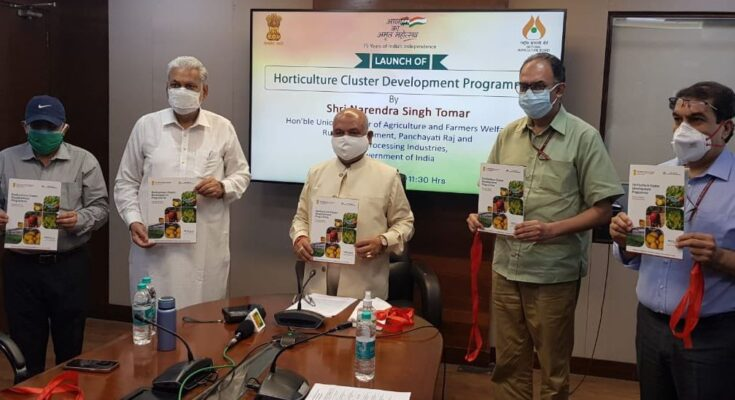 Agriculture Minister launches Horticulture Cluster Development Programme