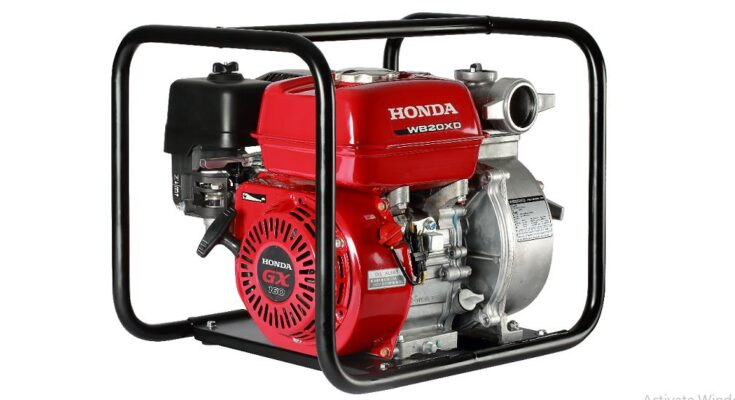 Honda India Power Products launches high discharge portable water pumps