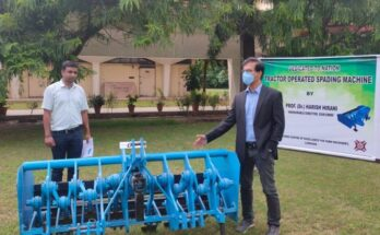 CSIR-CMERI dedicates tractor-mounted spading machine to the nation