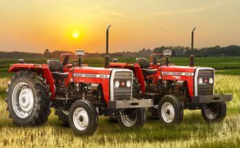 TAFE launches Massey Ferguson 244 tractors for Andhra Pradesh