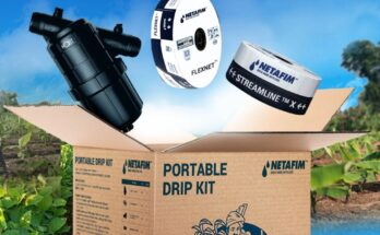 Netafim India launches portable drip kit for small-holding farmers