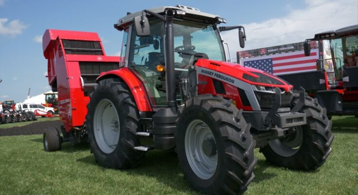 AGCO launches Massey Ferguson 5S tractor for hay and livestock producers