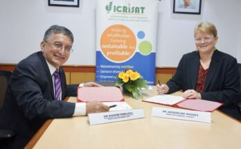 WFP, ICRISAT to partner on climate-resilient food security, nutrition and livelihoods