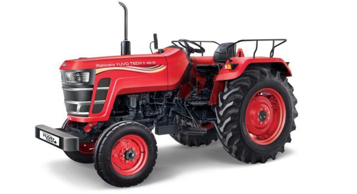 Mahindra launches 3 new Yuvo Tech+ tractors